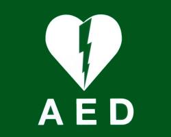AED aanwezig